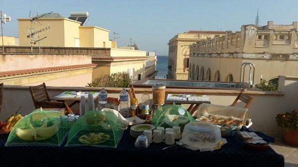 3rd floor roof terrace breakfast buffet-min