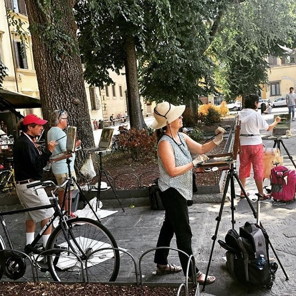 Рисовать во Флоренции